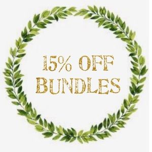 15% Off When You Bundle!